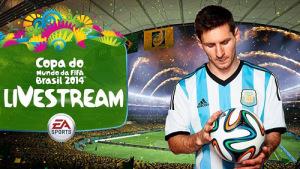 Live stream World Cup 2014
