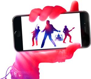 U2 on iTunes being streamed