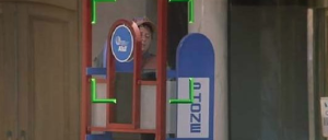 Back to The Future 2 phone booths