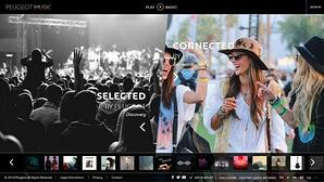Peugeot Music is an online music streaming platform available to anyone