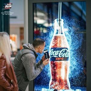 Coke Zero billboard
