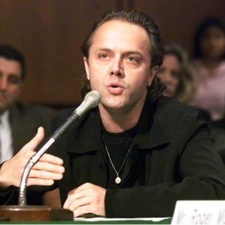 Lars Ulrich in Court VS Napster