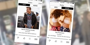American Eagle Outfitters mcommerce shopping app