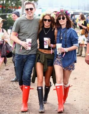 Hunter and music festivals