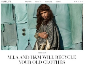 h&m and M.I.A