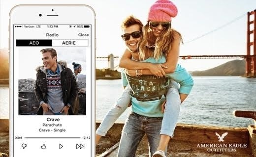 American Eagle Outfitters Music Streaming App