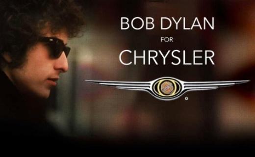 Bob Dylan in super bowl ad for Chrysler