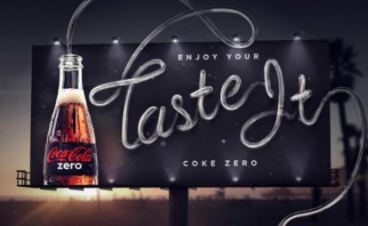Enjoy your taste it Coke Zero