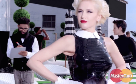 MasterCard and Gwen Stefani in Priceless Ad Campaign