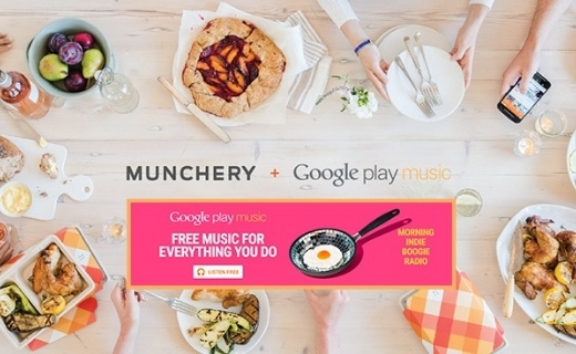 Google Play and Munchery
