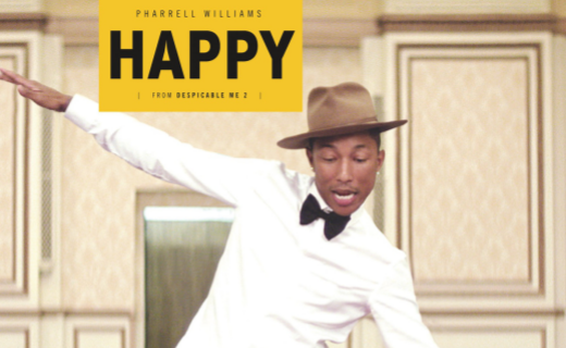 Pharrell Williams Happy - Despicable Me 2