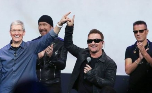 Tim Cook and U2 Apple Deal for iTunes