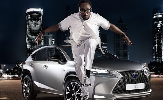 will.i.am and lexus