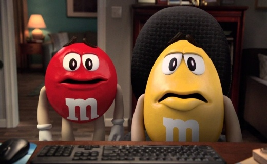 M&M 75 years celebration marketing campaign