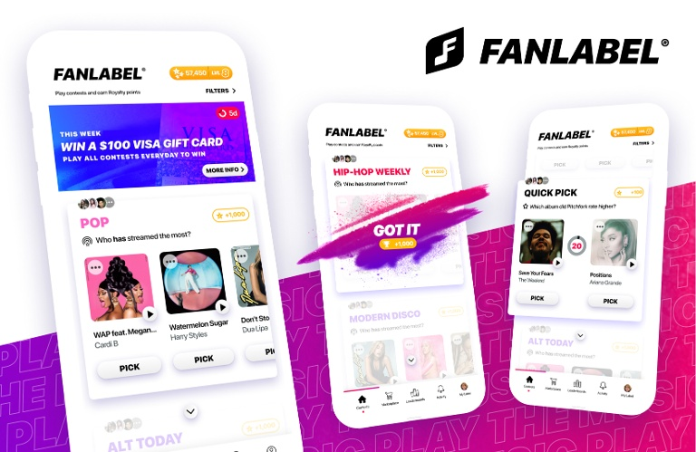 Tuned Global powers up fantasy record label app FanLabel