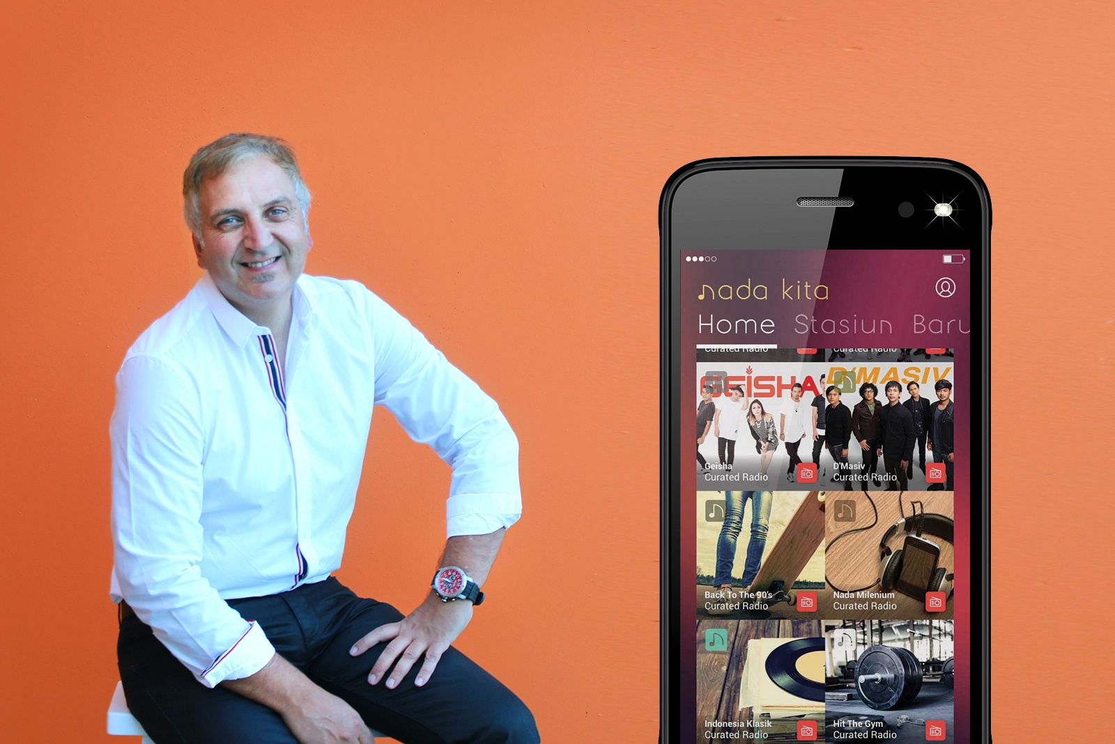 Nada Kita helps brands to engage with customers through music